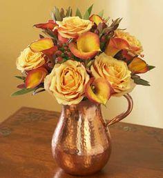 Simple Fall Flower Arrangements Make Gorgeous Party Table Centerpieces