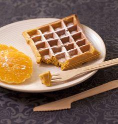 Gaufres au potimarron cannelle et oranges - Recettes de cuisine Ôdélices