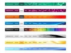 Website navigation menu