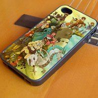 Studio Ghibli Characters 2 iPhone 4/4S, iPhone 5/5S/5C, iPhone 6 + 6 Plus Case, Samsung S3 S4 S5