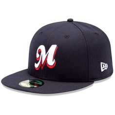 Memphis Redbirds Authentic Road Fitted Cap - MLB.com Shop