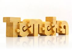 Name Puzzle Personalized Wooden Name Puzzles от Name2Puzzle