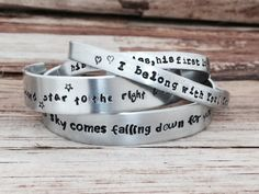 Hey, I found this really awesome Etsy listing at https://www.etsy.com/listing/128076446/customized-bracelet-personalized-name