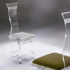 Shahrooz Symphony Lines Acrylic Side Chair (Set of 4) Upholstery: Jet