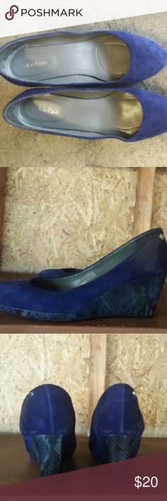 Ladies shoes Barely used comfortable shoes Calvin Klein Shoes