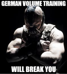 """German Volume Training - """"A barbaric, tried and tested muscle-building routine"""""""