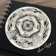 doodles zentangles & doodles & doodles easy & doodles drawings & doodles for bullet journal & doodles zentangles & doodles art & doodles easy simple & doodles aesthetic Zendala, Zentangle Artwork, Drawings, Doodle Art, Art, Zentangle Art, Doodle Drawings, Pattern Art, Zen Art