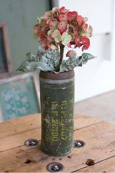 Reclaimed Ammunition Cannister Vase — MUSEUM OUTLETS