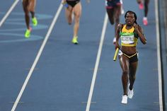 Jamaicans Wins Silver Women's 4x400m Relay: Rio Olympics