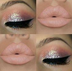 #mua #beauty #glam #glamgodess #makeup #makeupinspo Claire's Makeup, Barbie Makeup, Fairy Makeup, No Eyeliner Makeup, Pink Makeup, Glitter Makeup, Sparkly Eye Makeup, Makeup Goals, Makeup Cosmetics