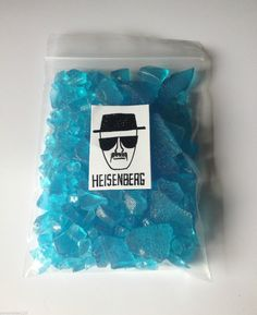 Breaking Bad Heisenberg& Finest Crystal Blue Meth Candy - - Strawberry Flavour from TheRainbowSensation on Etsy. Saved to Things I want as gifts. Breaking Bad Party, Art Breaking Bad, Walter White, Beaking Bad, Crystal Meth, Whatsapp Wallpaper, Psy Art, Heisenberg, Buy Crystals