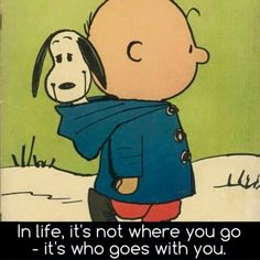 Unless of course you're Charlie Brown and Lucy is holding the ball.