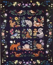 Woodland Creatures Block of the Month Registration from Quilting by the Bay (Florida LQS)