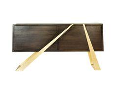 Mott Sideboard Contemporary, Metal, Wood, Sideboard by Gabriel Dean Design | Dering Hall | $10,000