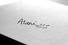 A logo mock-up for Atani Boutique. #inabudhabi #mydubai #logo