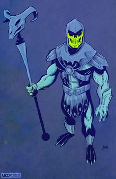 Skeletor - Schiani Ledo