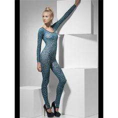 Leopard Print Blue Bodysuit   LoveJoy Adult Sex Toys   Ireland