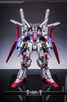 1/60 MSZ-010 ZZ Gundam - Painted Build
