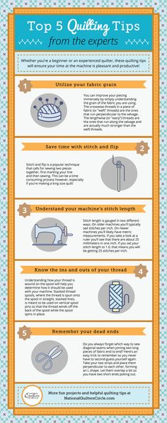We talked to our team of expert quilting instructors and asked them what special tip or technique they though every quilter should know. Whether you're a beginner or an experienced quilter, these five essential quilting tips will ensure your time at the machine is pleasant and productive!