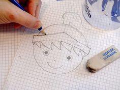 disegnando un piccolo cavaliere... per vedere tutte le foto del set finito clicca sull'immagine -  in Arbeit - Klicken Sie auf das Foto um das Endergebnis zu sehen