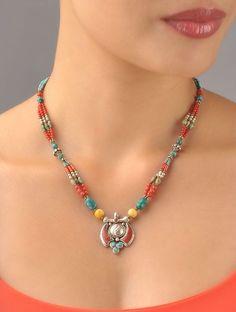 Bead Jewellery, Pearl Jewelry, Boho Jewelry, Beaded Jewelry, Handmade Jewelry, Beaded Bracelets, Bohemian Necklace, Diy Necklace, Fashion Necklace