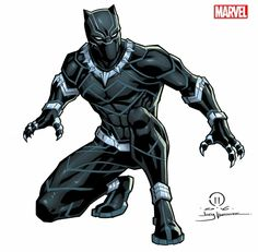 Black Panther license art by JoeyVazquez - Marvel Comics Black Panther Comic, Black Panther Movie 2018, Black Panther Drawing, Black Panther Face, Black Panther Party, Black Panthers, Comic Book Characters, Comic Books Art, Comic Art