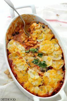 chicken enchilada potato casserole chicken enchilada potato casserole ...