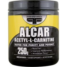 Primaforce, Alcar, Acetyl-L-Carnitine, Unflavored, Powder, 250 g - Впервые на iHerb? Используйте код MGS077, чтобы сэкономить до $10.00 с Вашего первого заказа. For the first time iHerb? Use Code MGS077, to save up to $ 10.00 with your first order.
