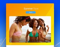 "Check out new work on my @Behance portfolio: ""Summer Rave. Email / Landing page Template"" http://be.net/gallery/53639323/Summer-Rave-Email-Landing-page-Template"