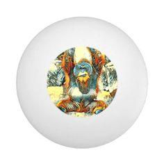 AnimalArt_OrangUtan_20170604_by_JAMColors Ping Pong Ball - diy individual customized design unique ideas