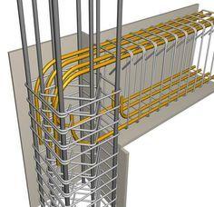 BuildingHow > Products > Books > Volume C > Materials > Rebar bending - AAA - Architektur Concrete Structure, Building Structure, Building Materials, Building Design, Building A House, Civil Engineering Design, Civil Engineering Construction, Framing Construction, Construction Tools