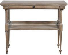 """Vanguard Furniture: 8526E-HM - Solon (Side Table) 36""""W x 18""""D x 29""""H"""