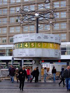 the World Clock in Berlin