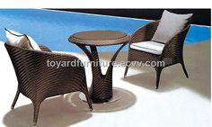 Wicker Leisure Chair Set