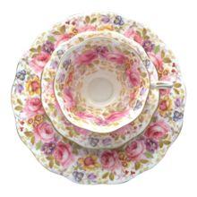 Royal Albert Bone China 'Serena' Salad Plate and Saucer