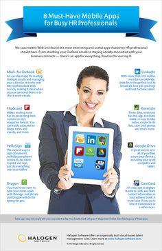 Get a list of 8 mobile apps no HR professional should be without.