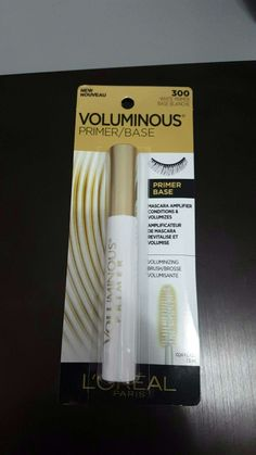 Voluminous eyelash primer