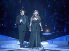 Sarah Brightman Antonio Banderas - Phantom of the Opera - El Fantasma de la Opera - live - YouTube