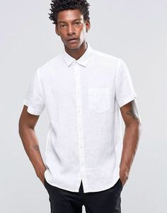 3ae8f4f2 10 Delightful Men's fashions images | Mens white linen shirt, Casual ...