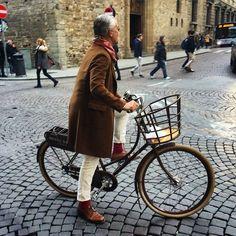stylish bicycle guy...