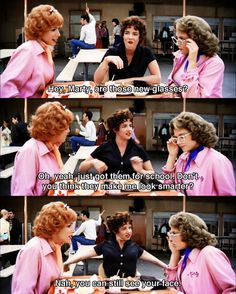 """""""Grease"""" absolutely love this film! I also love use of wardrobe! 80s Movies, Good Movies, Movie Tv, Awesome Movies, Movies Showing, Movies And Tv Shows, Grease Quotes, Grease Lightening, Grease 1978"""