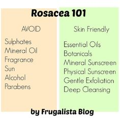 DIY Rosacea Remedies ~ 11 Advanced Rosacea Facts and Home Remedies | GleamItUp