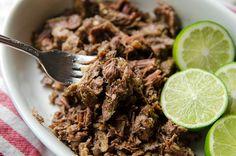 #SlowCooker Margarita Beef