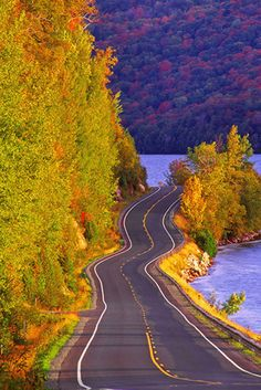 The Most Incredible Fall Foliage Drives In North America