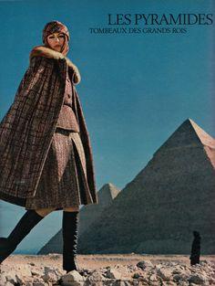 Krun Elegance Magazine, Paris - 1971/1972, photographed by Richard Dormer. #vintage #fashion #1970s