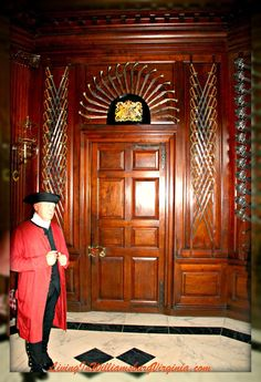 Living In Williamsburg, Virginia: Governor's Palace Entry, Colonial Williamsburg, Virginia