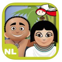 Amon & Amara: Ga op avontuur met Amon en Amara in het magische Egypte. Deze interactieve app bevat een kinderverhaal met spellen.