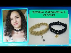 Tutorial Choker a crochet - YouTube