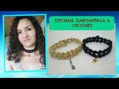 Tutorial Choker a crochet - YouTube