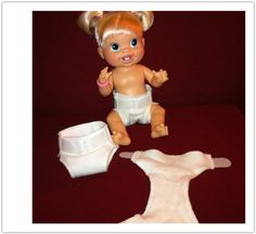 Doll Diapers for Baby Alive